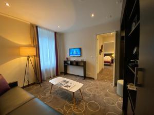 TV o dispositivi per l'intrattenimento presso Grand Hotel des Bains