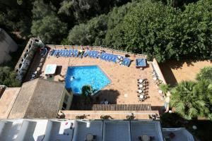 Een luchtfoto van Hotel Manaus