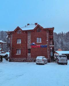 Silveroks Hotel during the winter