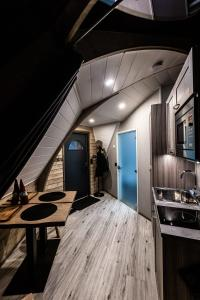 A kitchen or kitchenette at Syöte Igloos