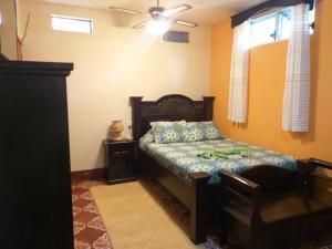 Ein Bett oder Betten in einem Zimmer der Unterkunft Hospedaje El Viajero