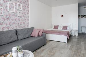 A bed or beds in a room at Provence house