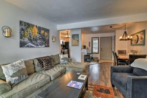 A seating area at Steamboat Condo with Community Hot Tub 1 Mi to Lifts