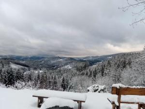 Horský Hotel Martiňák v zimě