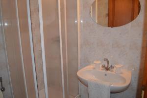Salle de bains dans l'établissement Hotel Au Picardy