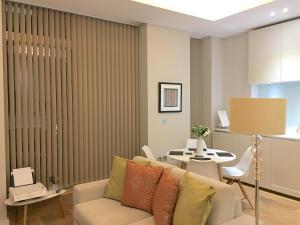 Zona de estar de Trafalgar Luxury Suites
