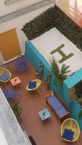 منظر المسبح في فندق فيكتوريا او بالجوار