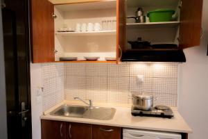 Kuhinja ili čajna kuhinja u objektu Malamatenia House