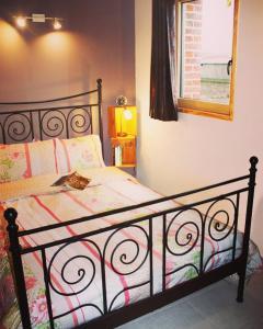 Un ou plusieurs lits dans un hébergement de l'établissement Parenthèse Champêtre