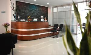 El vestíbulo o zona de recepción de Hotel Boutique Laverdieri