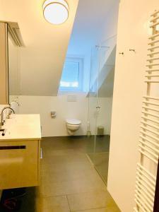 Ein Badezimmer in der Unterkunft Cozy room im Salzburg