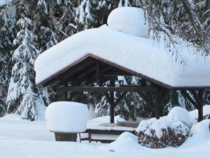 Zigeunermühle during the winter