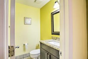 A bathroom at Waterfront Ocean Dunes Villa at Sands Resorts