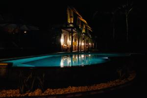The swimming pool at or near Tentacle Bali