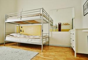 A bunk bed or bunk beds in a room at Hostel Diana Park