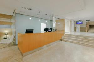The lobby or reception area at Hesperia Ciudad de Mallorca