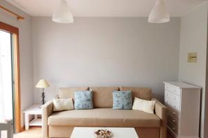 Posezení v ubytování Los Cancajos Apartamento Amelia