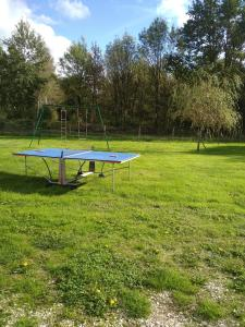Ping-pong facilities at Les Brosses or nearby