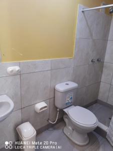 A bathroom at Hospedajes Farid