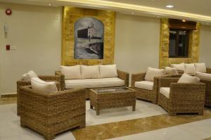A seating area at Saint John Hotel