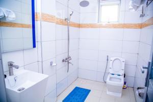 A bathroom at Hotel Benco