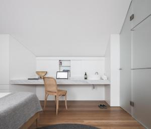 A kitchen or kitchenette at Architectural Design Award winning city House