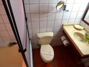 Un baño de Hotel Rio Perlas Spa & Resort