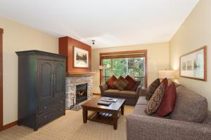 A seating area at Horstman House by Whistler Premier