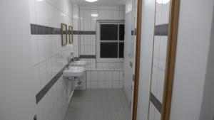 A bathroom at Urbany Hostel London