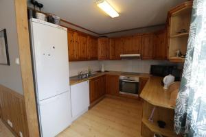 Kjøkken eller kjøkkenkrok på Fossanmoen