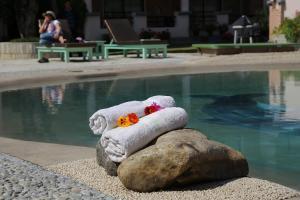 Бассейн в Mount Kailash Resort или поблизости