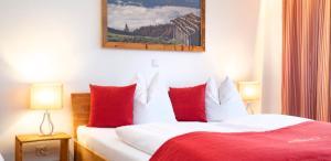 Ein Bett oder Betten in einem Zimmer der Unterkunft ArtiHome