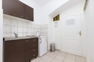 A kitchen or kitchenette at Apartment Pauk Split