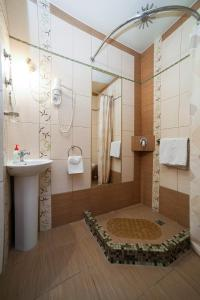 Ванная комната в Гостиница Даниловская