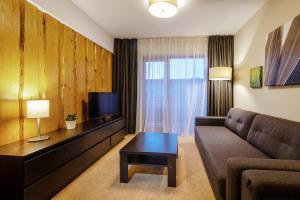 Posedenie v ubytovaní Via Jasna Wellness Apartments