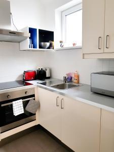 Kuchyň nebo kuchyňský kout v ubytování Sun Plateau