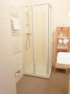 Koupelna v ubytování Sun Plateau