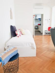 Postel nebo postele na pokoji v ubytování Sun Plateau