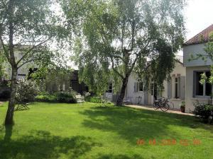 A garden outside La Maison des Tortues