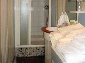 A bathroom at La Maison des Tortues