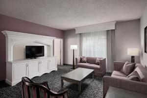 Zona de estar de Anaheim Majestic Garden Hotel