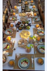 Breakfast options available to guests at DAR SULTANA Guesthouse