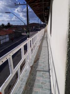 A balcony or terrace at Maria Bonita Casa de Temporada