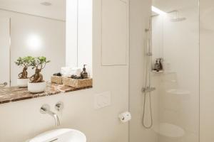 A bathroom at Haus im Tal