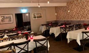 En restaurang eller annat matställe på Baren i Ockelbo