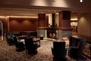 The lounge or bar area at Hakuba Tokyu Hotel