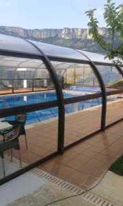 The swimming pool at or near Casa Rural Landa