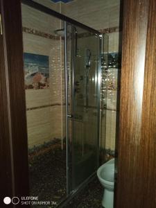Ванная комната в Apartment in Koraloviy Ostrov