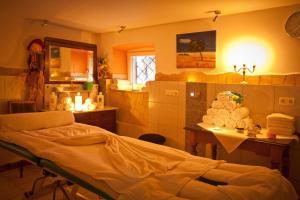 Ein Badezimmer in der Unterkunft Seebauer Hotel Gut Wildbad
