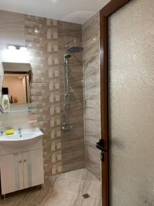 ห้องน้ำของ Maison Blanche Guest Rooms
